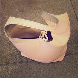 J. Crew peach color gorgeous genuine leather purse